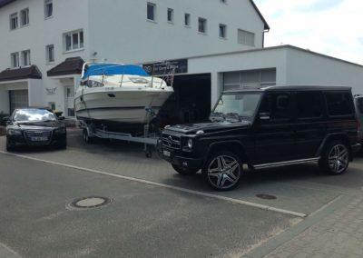 Boot Aufbereitung