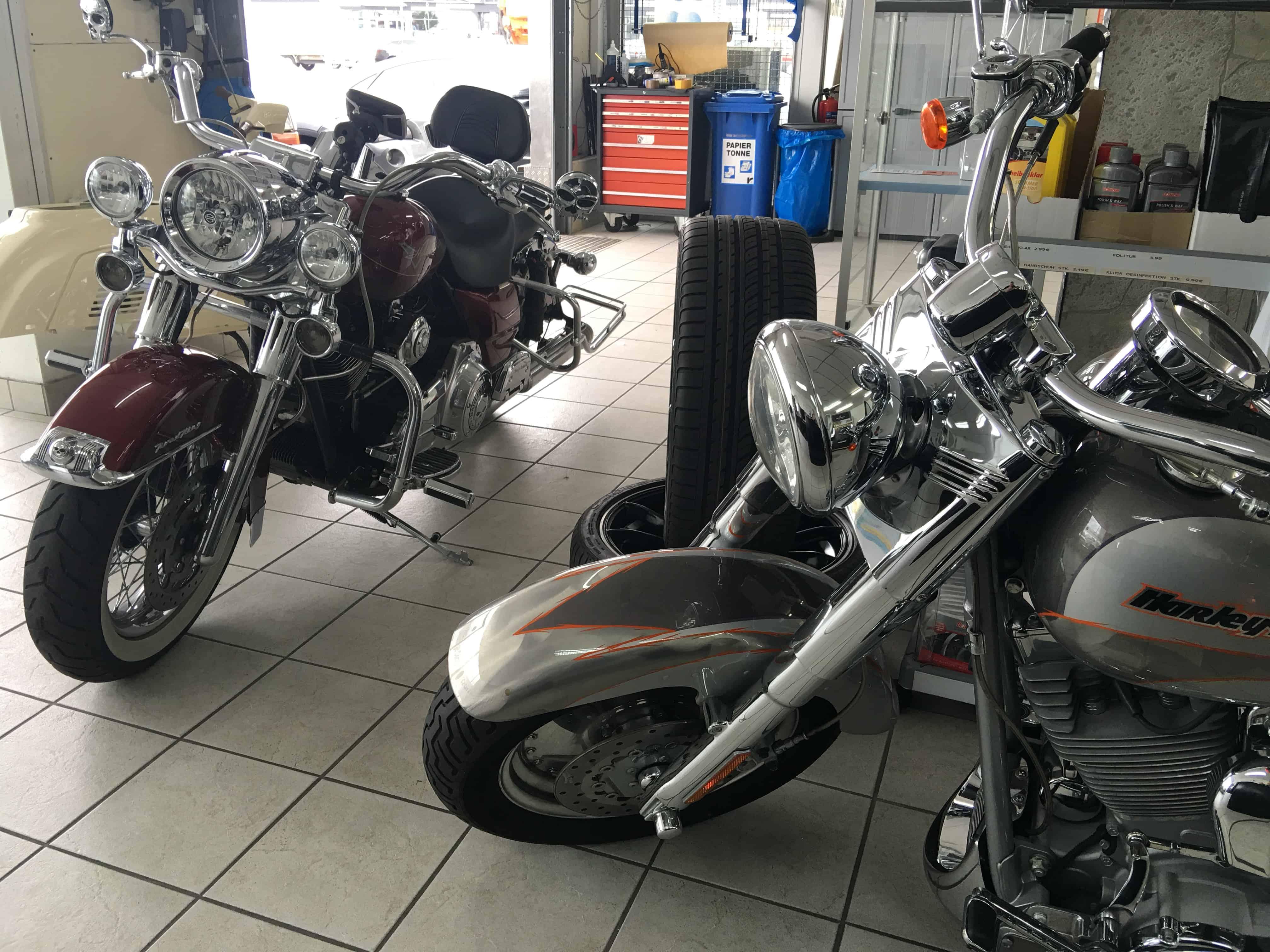 Harley Spezialprogramm WAX