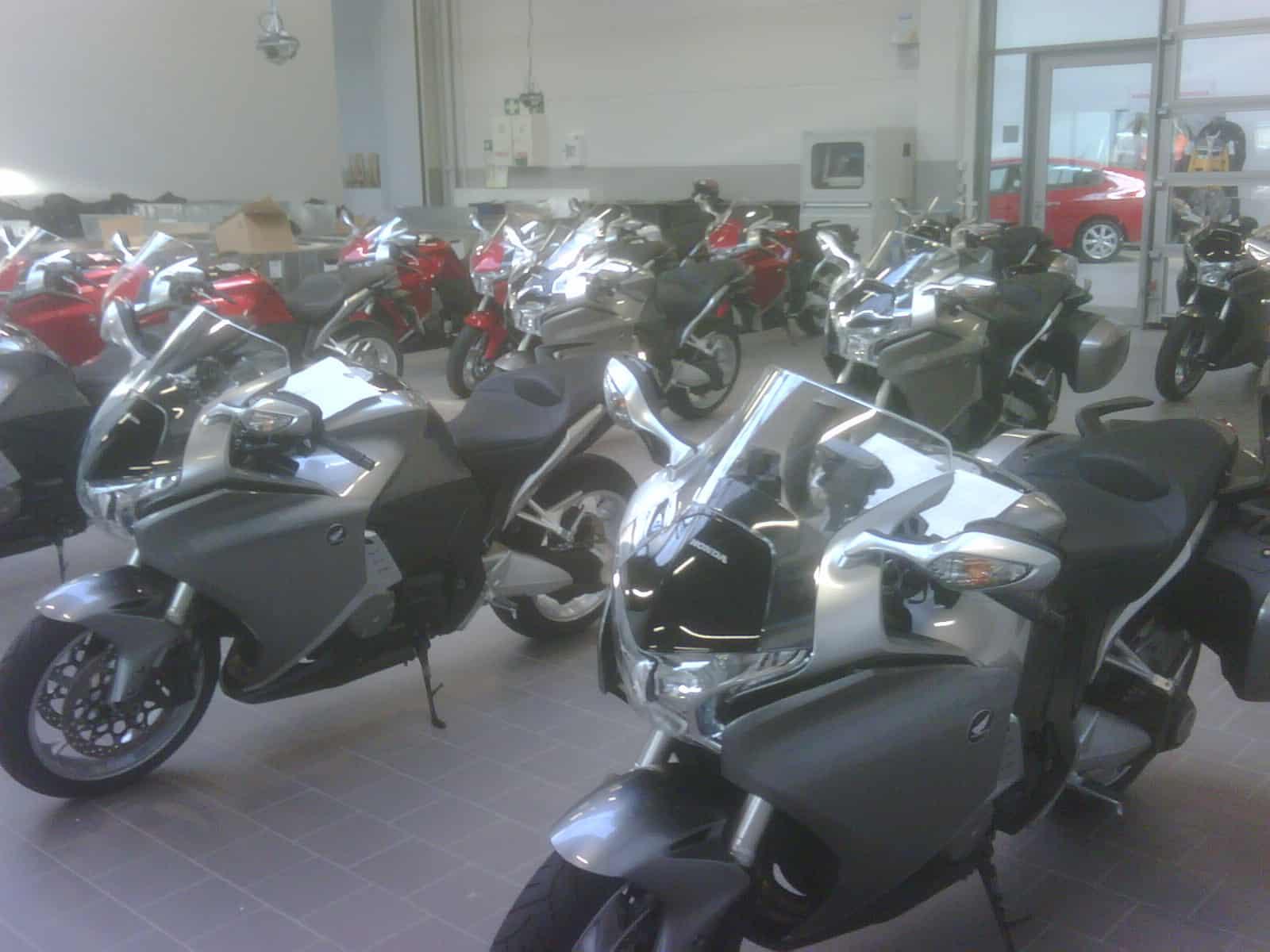 Honda Event Motorräder Aufbereitung