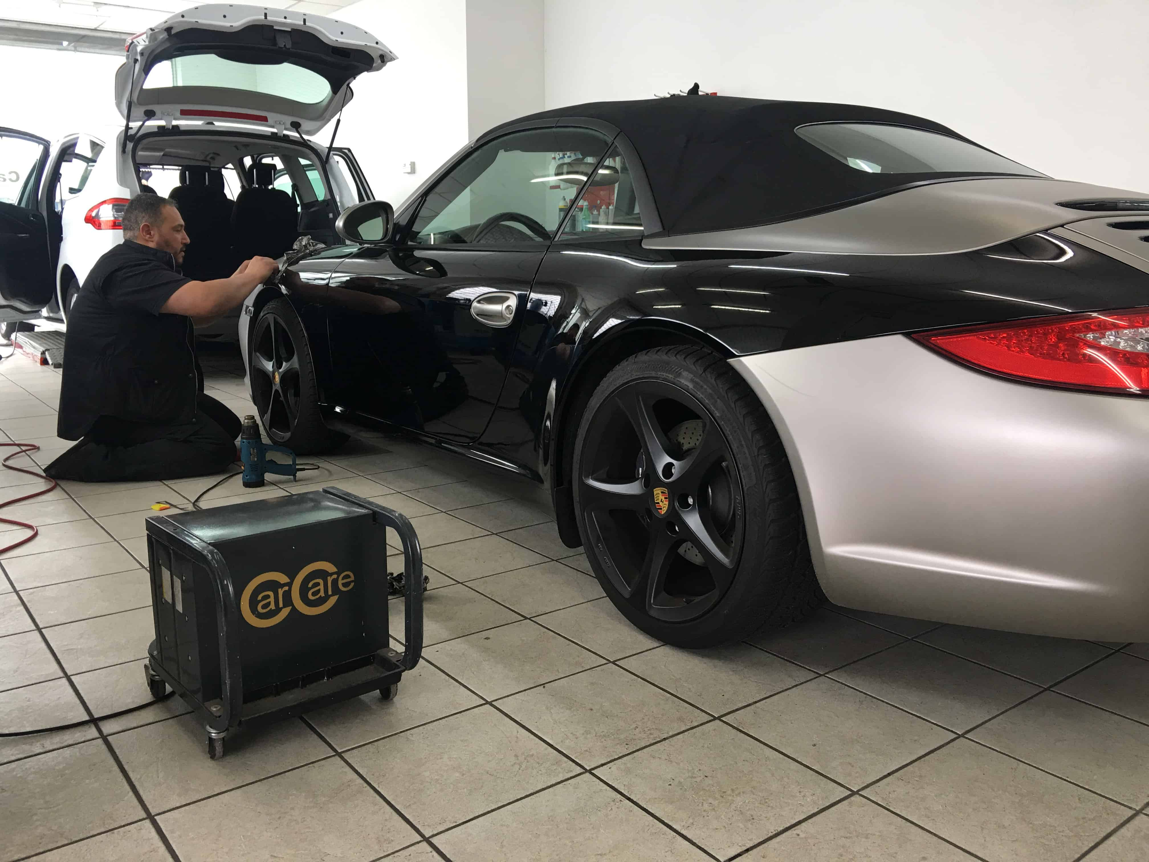 Vollfolierung Porsche
